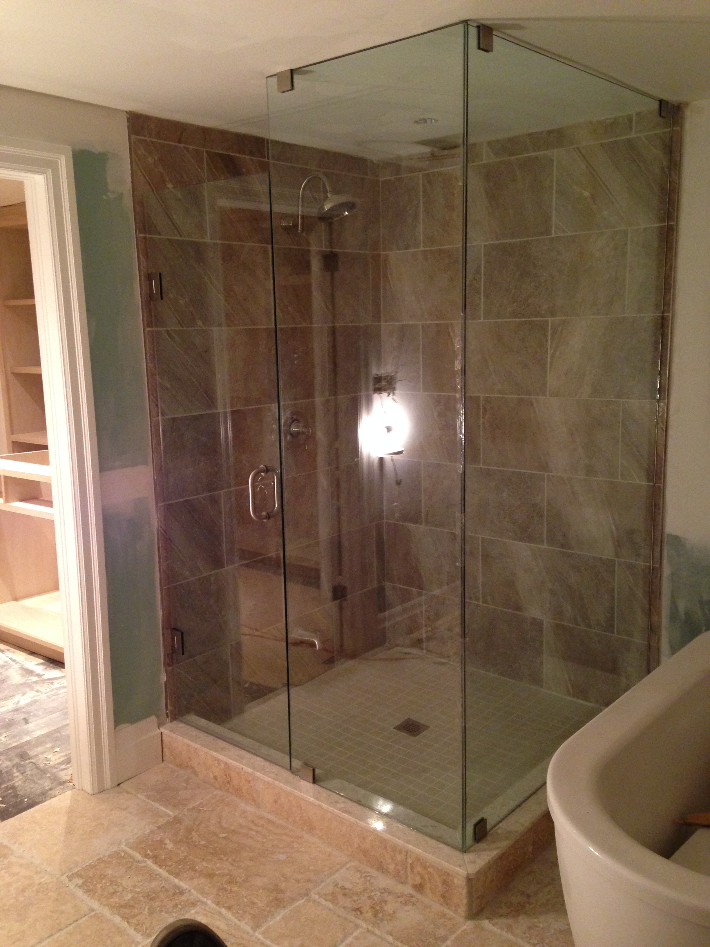 semi doors shower door enclosures woodstock framed atlanta and frameless georgia company